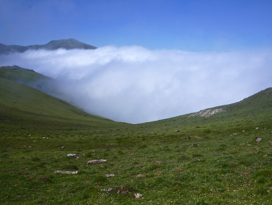 Hiking through the Pyrenees