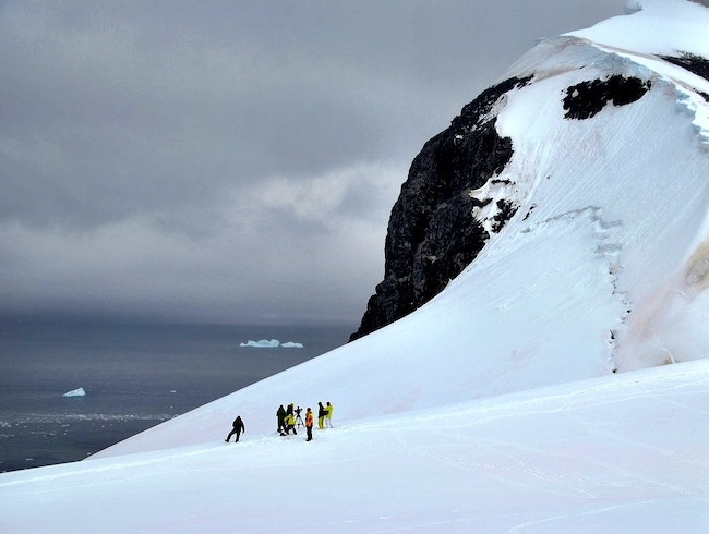 Cross-Country Skiing Around Antarctica