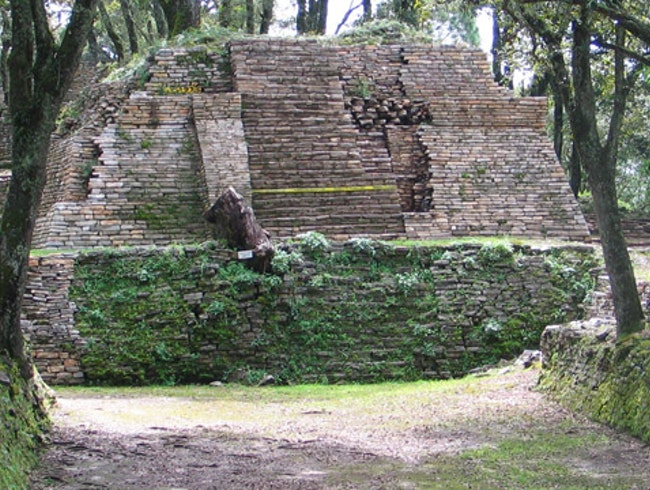An archaeological in the Sierra Gorda