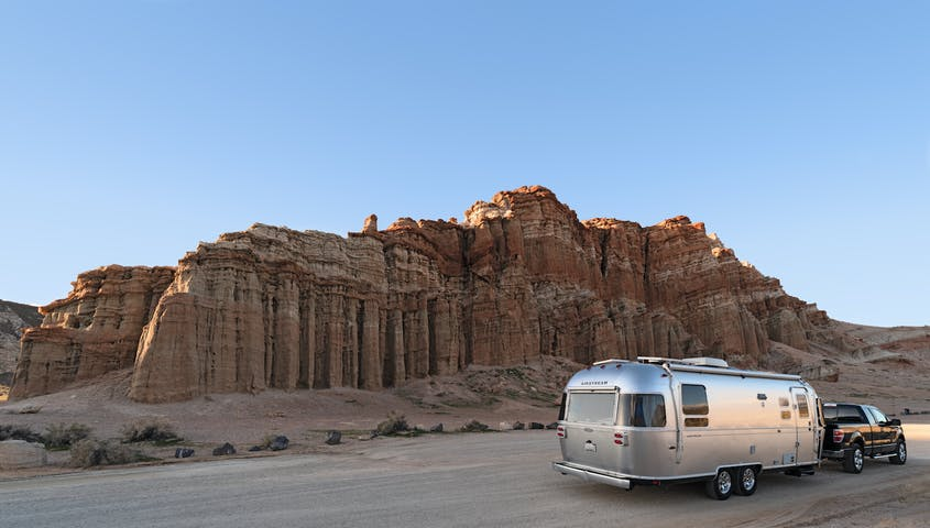 If you want the freedom to roam more easily in-destination, a detachable travel trailer is a great option.