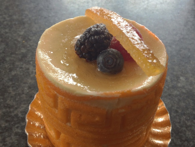 Passion Fruit and Orange Mousse
