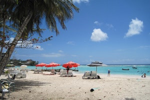 Carib Beach Bar - Worthing Beach, Barbados