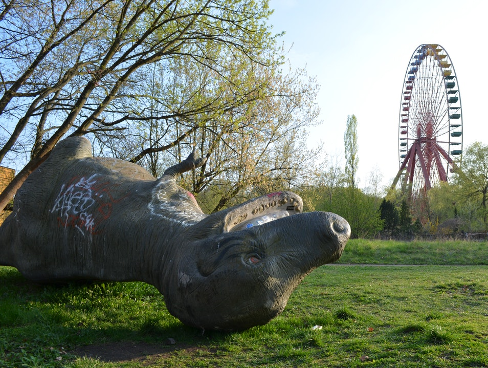 A final look at an abandoned Berlin amusement park going extinct Berlin  Germany