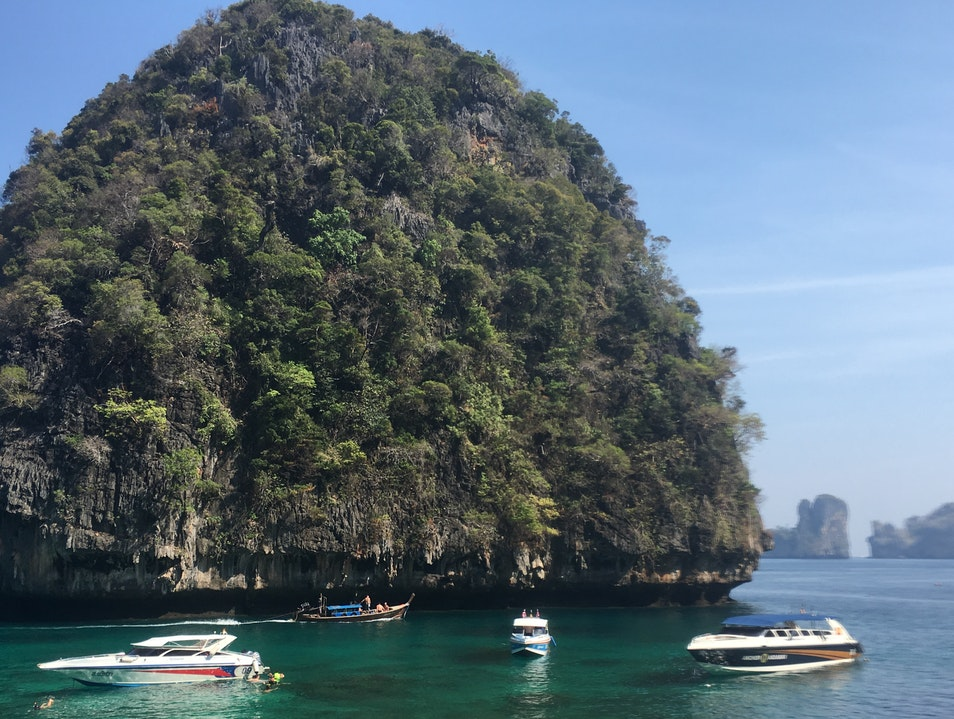 Visit the famed Phi Phi Islands