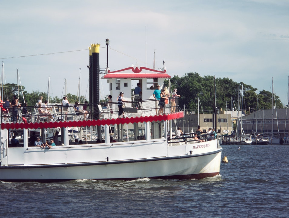Harbor Queen Cruise Annapolis Maryland United States