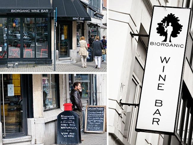 Organic Wines to Taste and Buy in Brussels