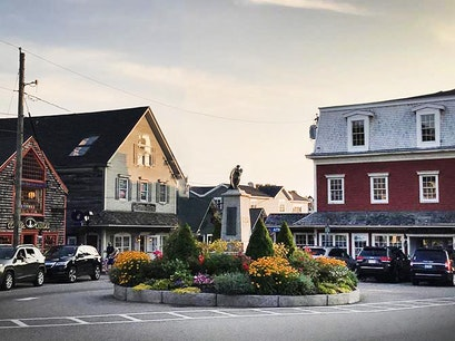 Dock Square Kennebunk Maine United States