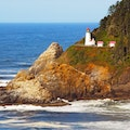 Heceta Head Lighthouse Yachats Oregon United States