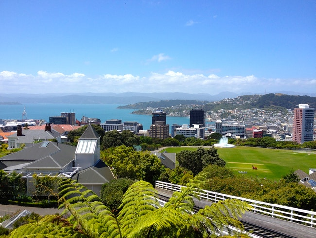 Wellington Cable Car Ride to Botanic Gardens
