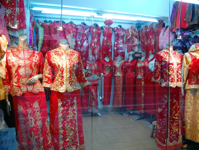 """Fall in Love with Chinese Embroidery on """"the Wedding Street"""""""
