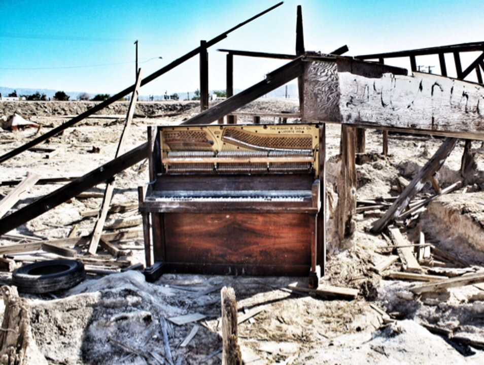 Bombay Beach Has Seen Better Days