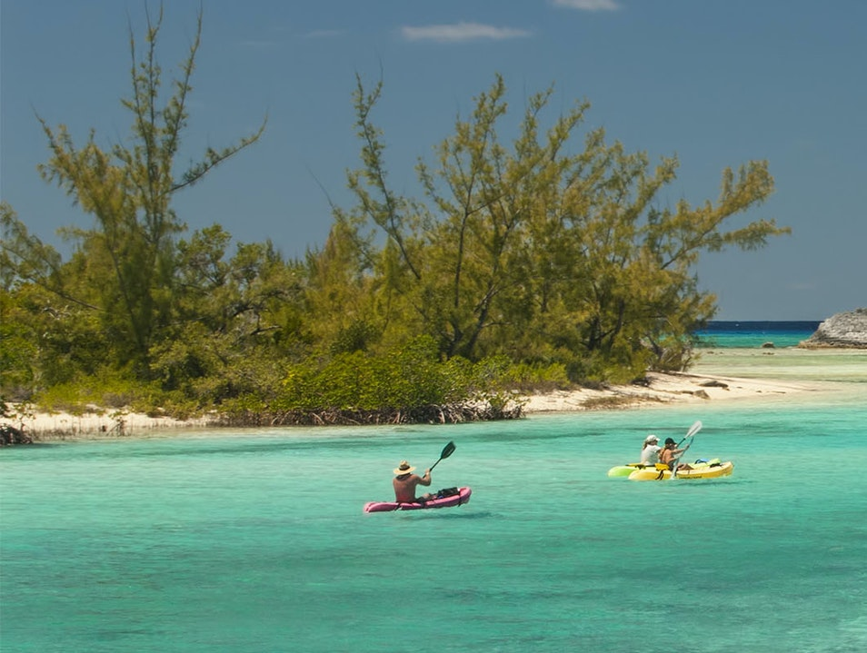 Kayaking Cat Island  The Bahamas