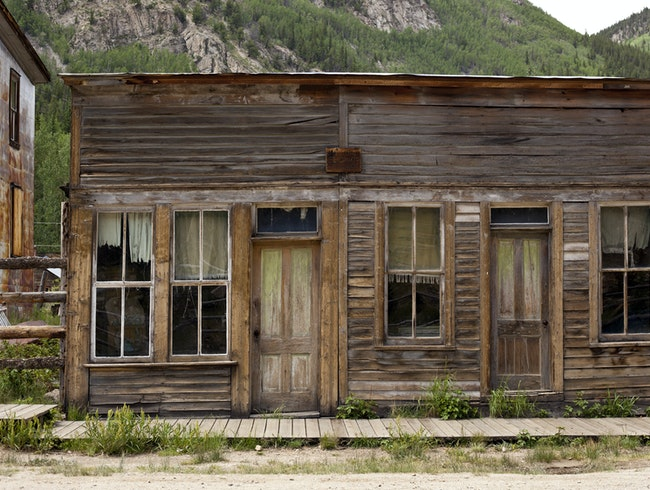 St. Elmo Ghost Town