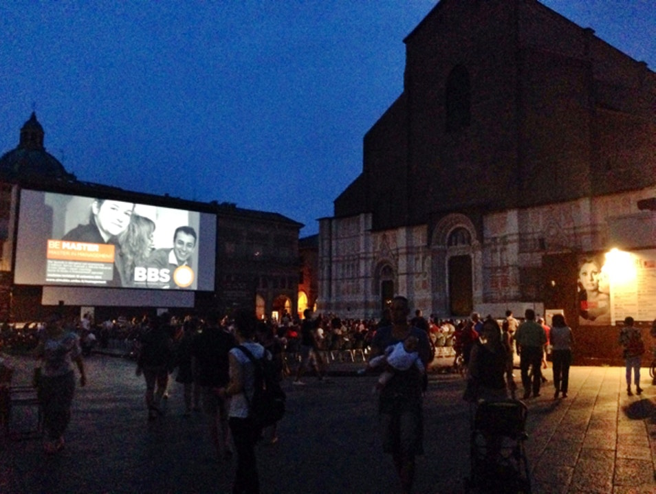 Movie Night in Bologna