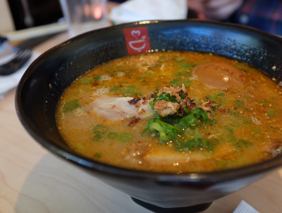 Delicious Japanese Ramen efficiently served to you Los Angeles California United States