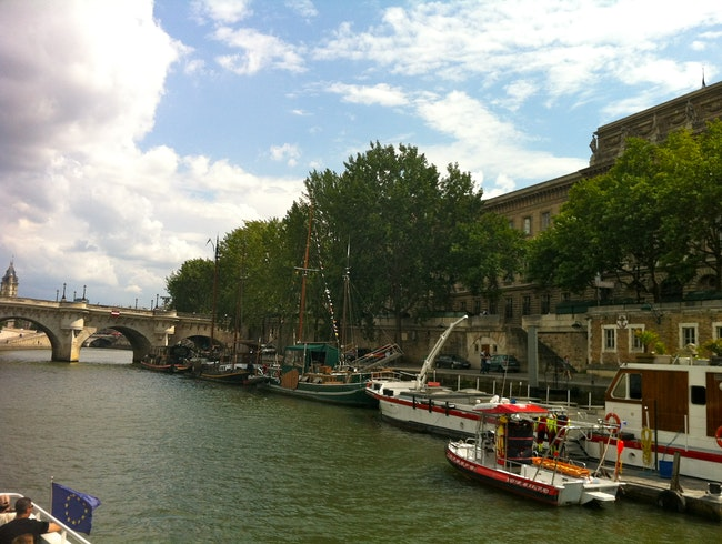 Seine on a Sunny Day