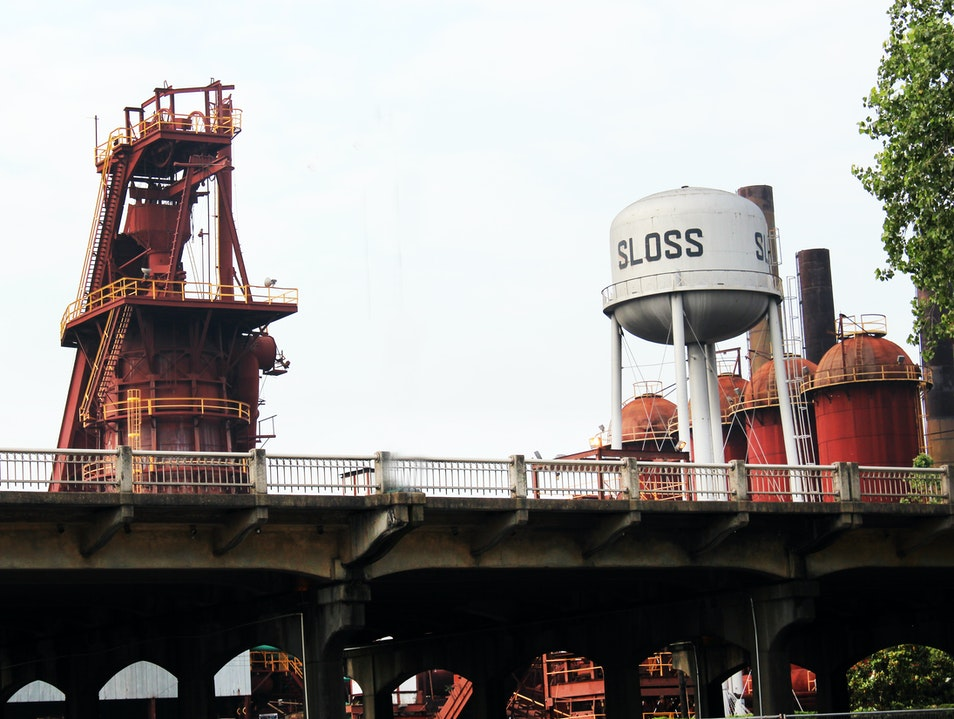 Sloss Furnaces National Historic Landmark Birmingham Alabama United States