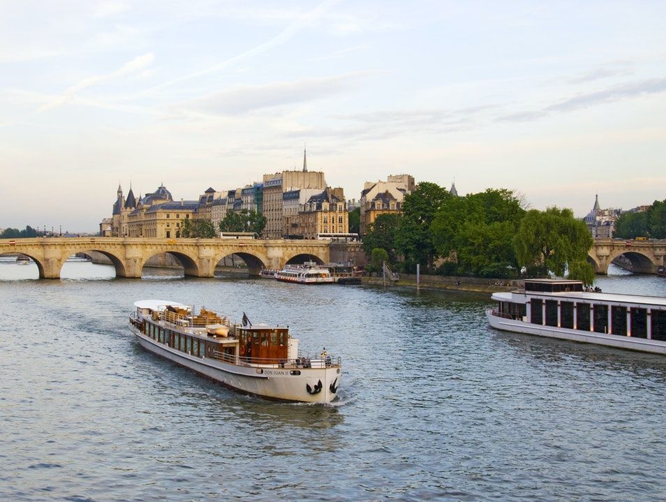 Seine at Sunset Paris  France