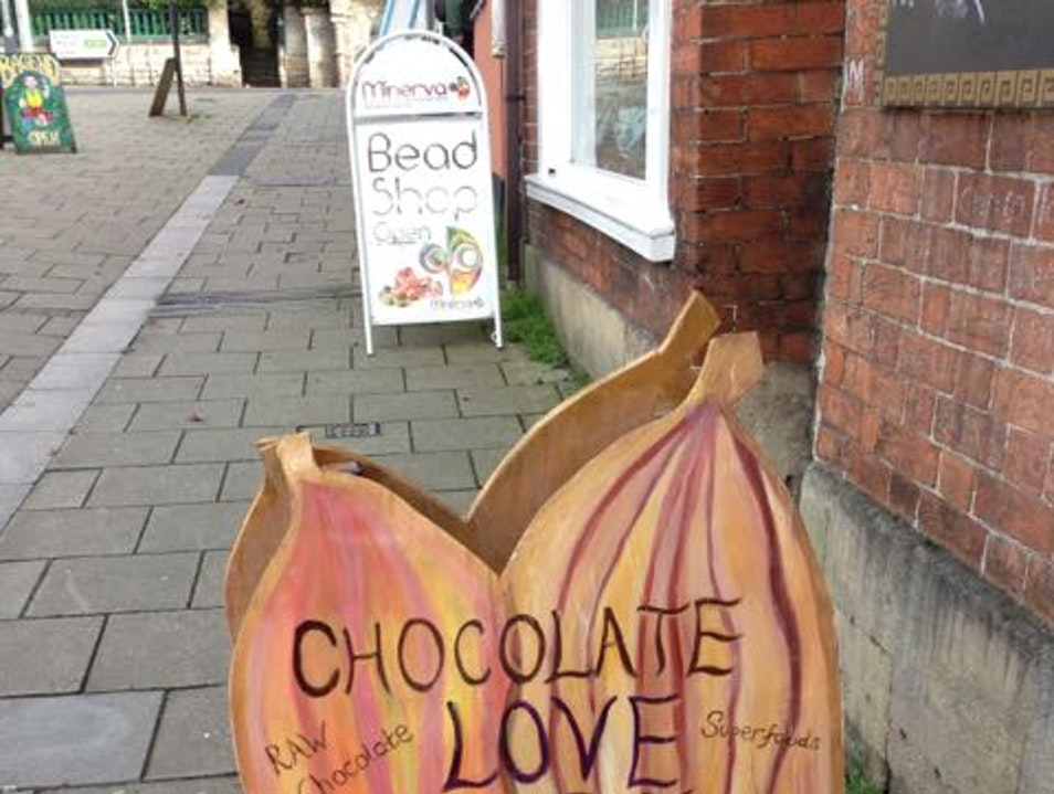Treat what ails you with handmade chocolate Glastonbury  United Kingdom