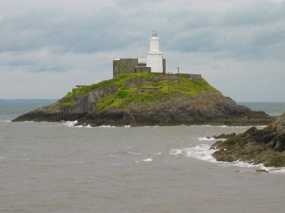 Mumbles Lighthouse The Mumbles  United Kingdom