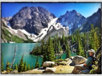 Lake Colchuck, Alpine Lakes Wilderness Wenatchee Washington United States
