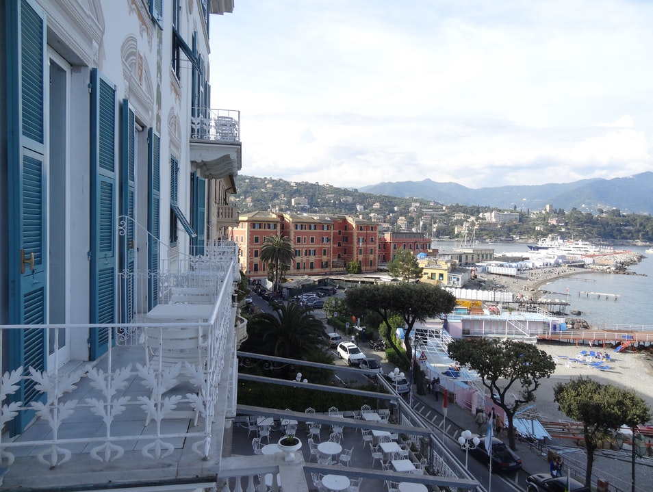 Romance in the Italian Riviera Santa Margherita Ligure  Italy