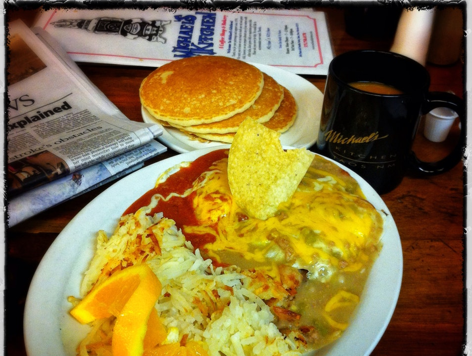When in Taos, get your breakfast 'Christmas'-style Taos New Mexico United States