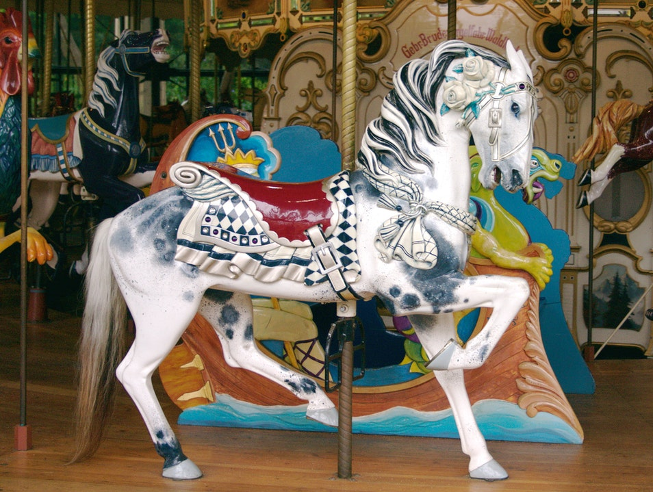 Ride the Historic Carousel in Golden Gate Park San Francisco California United States