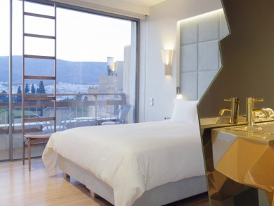 Sleep in a Modern Art Museum at NEW Hotel Athens  Greece