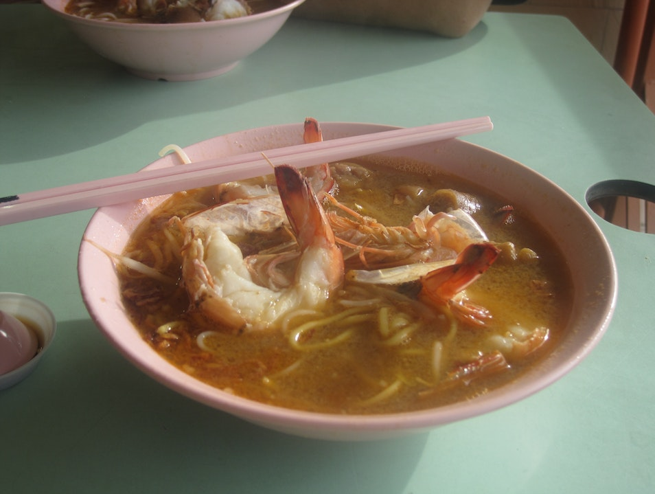 Prawn Noodle Soup Singapore  Singapore