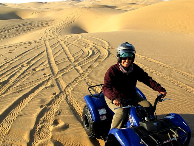 Quad Biking in Namibia