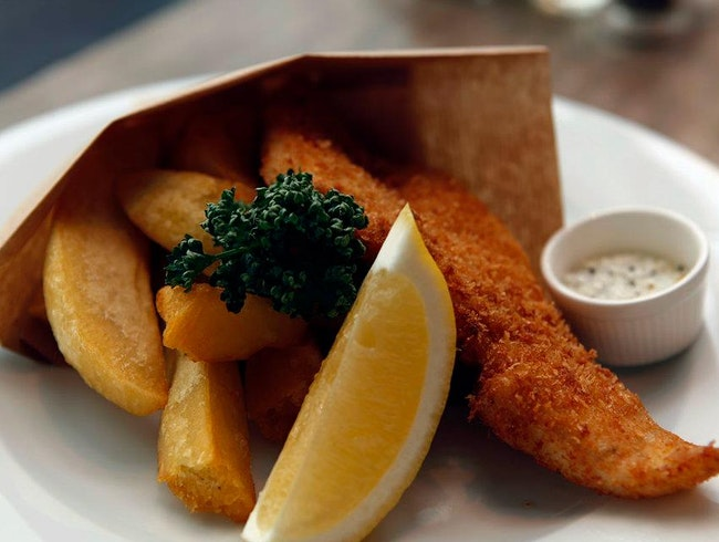 High-End Fish and Chips