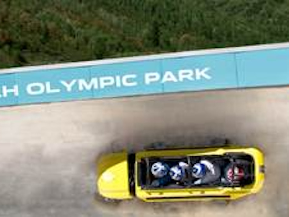 Go 75 mph on a Bobsled Park City Utah United States