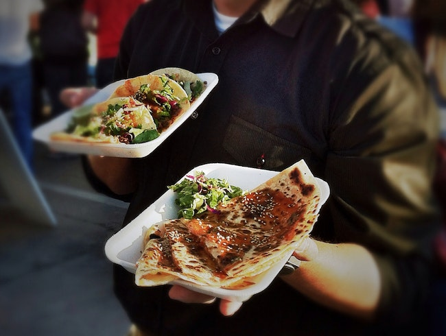 Fusion Food Trucks Arrive in the Desert: Delicious!