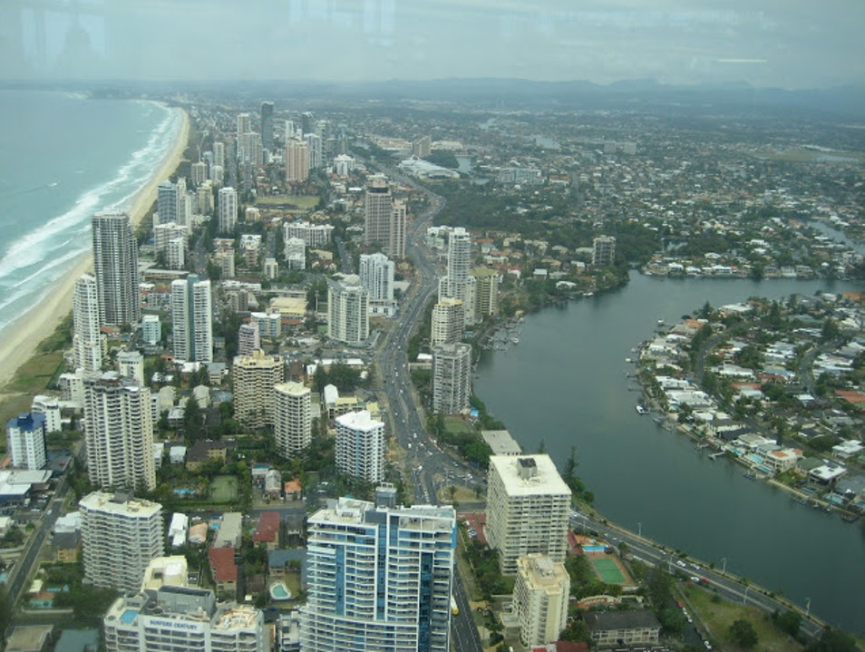 Paradise from Above Surfers Paradise  Australia