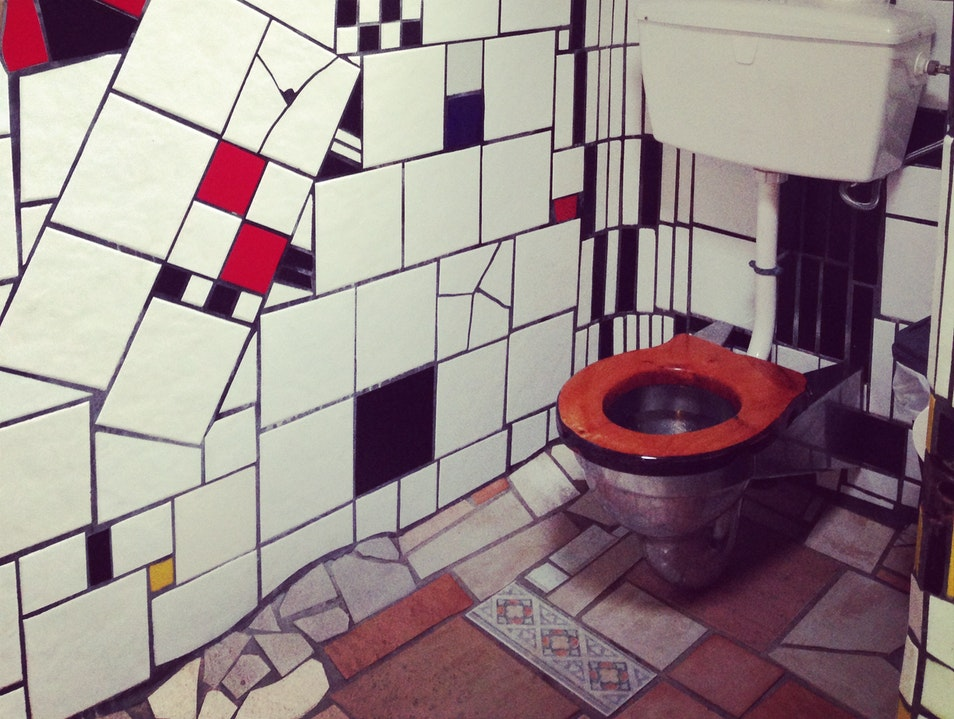 Public Toilets as Public Art Kawakawa  New Zealand