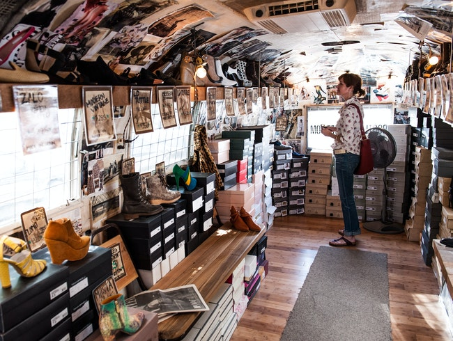 One-of-a-Kind Shoe Store