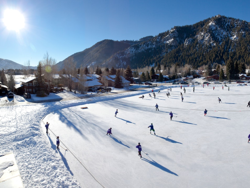 Perform a Pirouette or Sink a Slapshot! Ketchum Idaho United States
