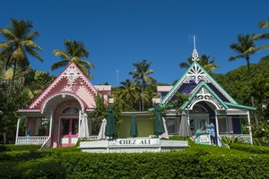 Pink House Mustique