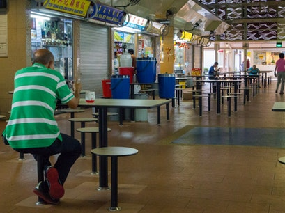 Pek Kio Hawker Center Singapore  Singapore