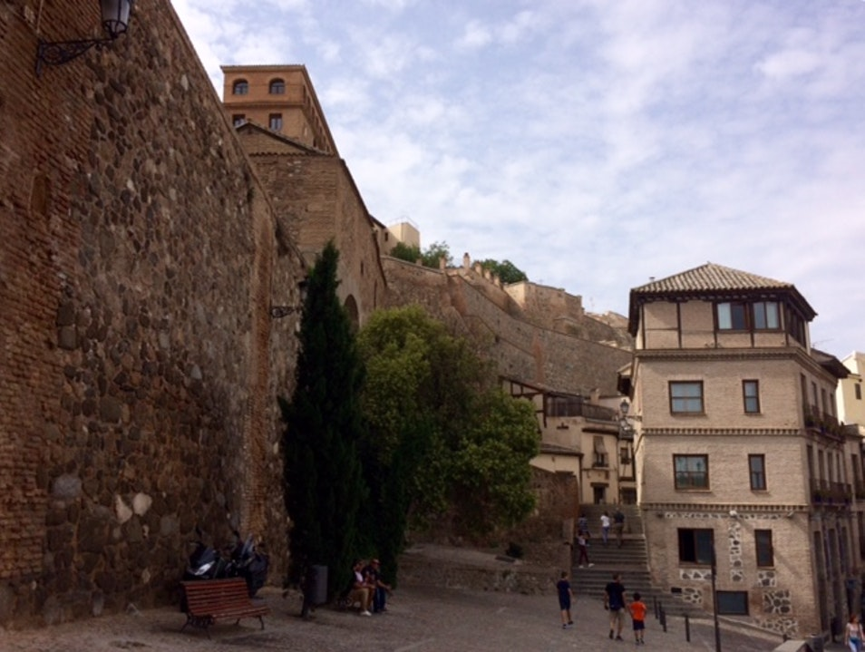 The Walled City Toledo  Spain