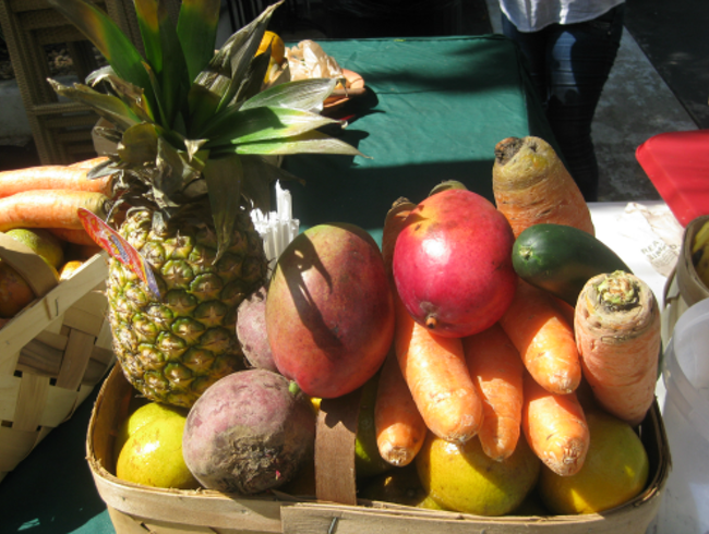 Fresh Produce on World Famous Lincoln Road