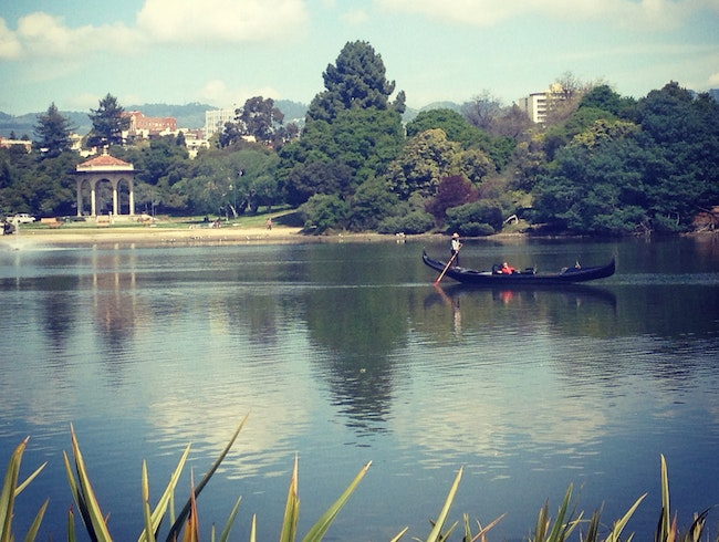 Walking Lake Merritt