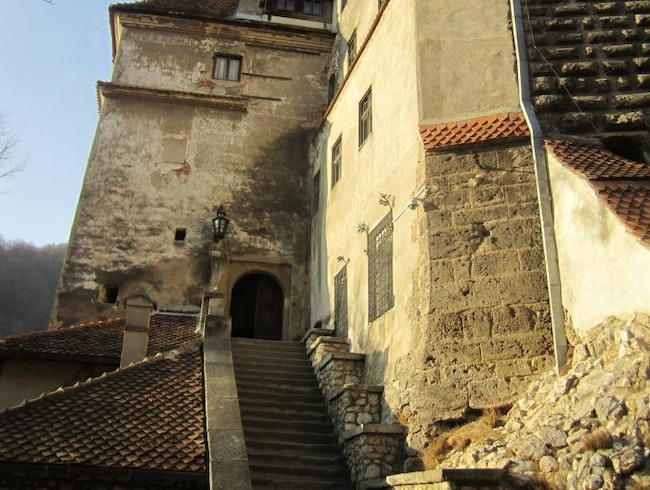 Walking into a Transylvanian Castle