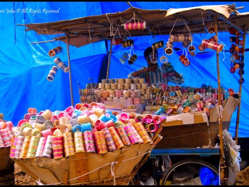 The Colourful Bangles of Hyderabad