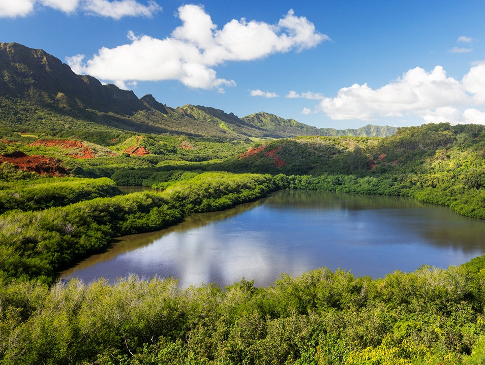 Menehune Fishpond Lihu'e Hawaii United States