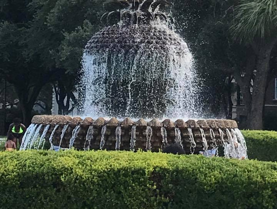 Waterfront Park and Pineapple Fountain