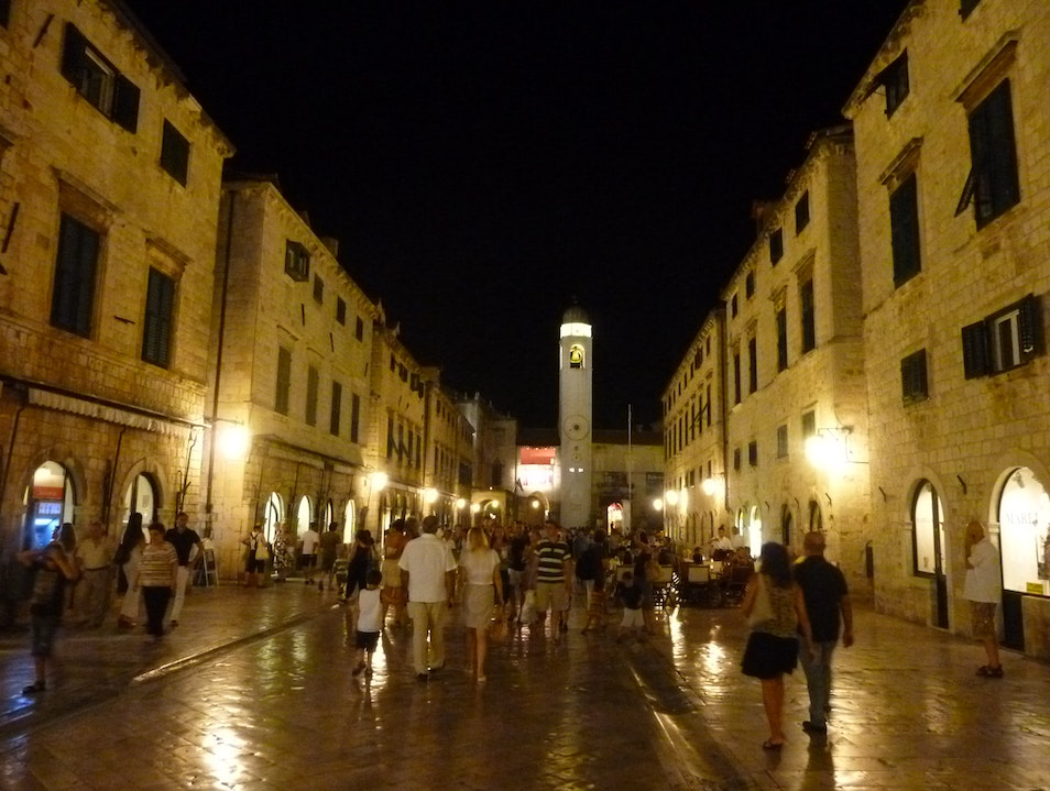 Paint The Old Town Red Dubrovnik  Croatia