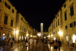 Dubrovnik Historic Street Old Town