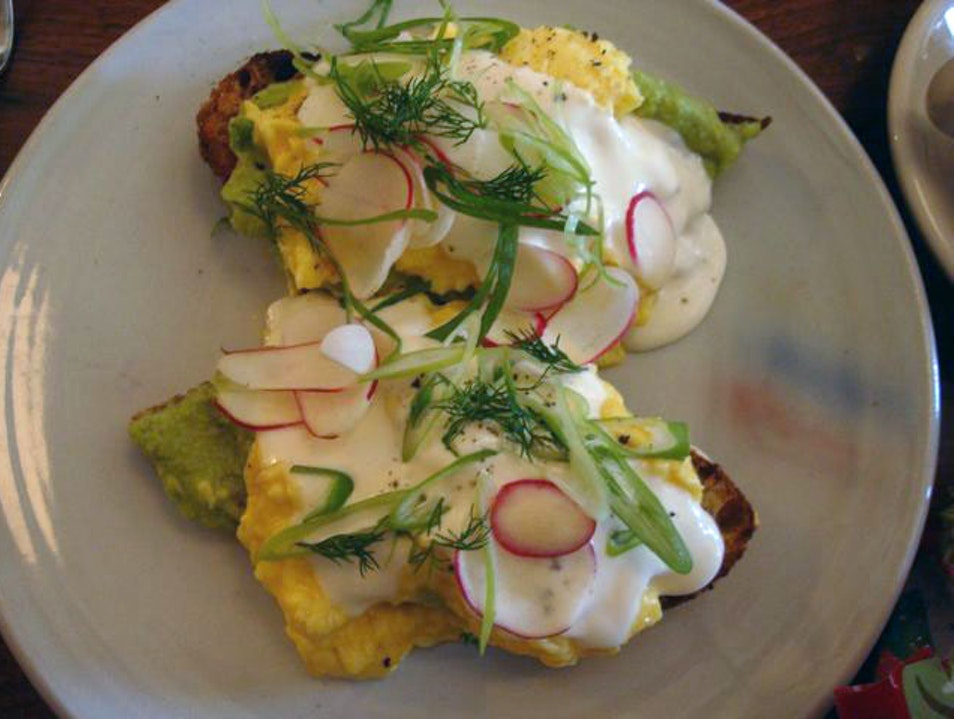 Sunday brunch in Mission district San Francisco California United States
